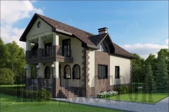 Дом с большой террасой 218 кв.м.